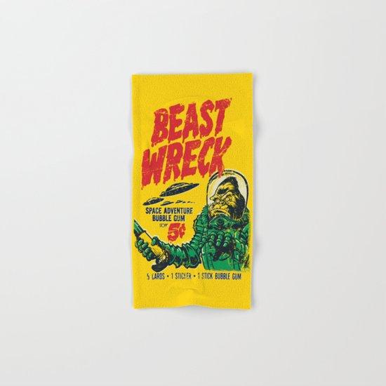 BEASTWRECK ATTACKS! Hand & Bath Towel