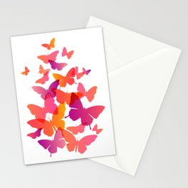 Flying Butterfly Stationery Cards