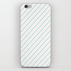 Blue Stripe iPhone & iPod Skin