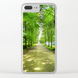 walkway. Clear iPhone Case