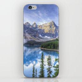 Moraine Lake #landscape #photography iPhone Skin