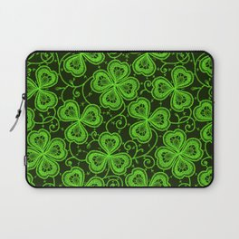 Clover Lace Pattern Laptop Sleeve