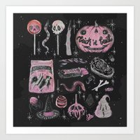 loll3 Art Prints featuring Trick 'r Treat by lOll3