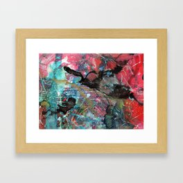 Turquoise treasure Framed Art Print