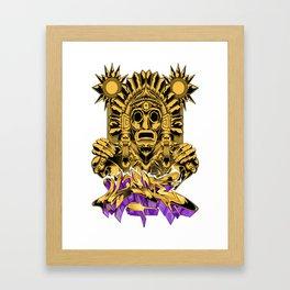 Xochipilli Framed Art Print