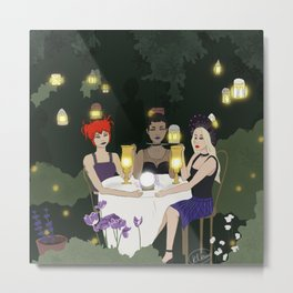 Witchy Seance  Metal Print