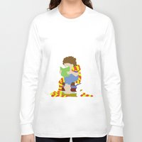 read Long Sleeve T-shirts featuring Read by AlohaMinty