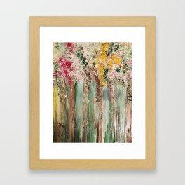 Woods in Spring Framed Art Print
