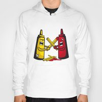 fries Hoodies featuring Fries wars by pludadesign