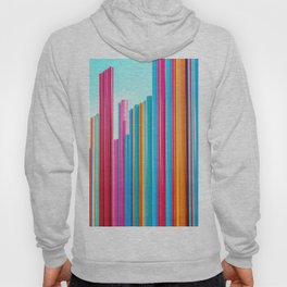 Colorful Rainbow Pipes Hoody