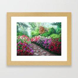 Azalea Road Framed Art Print