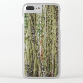 Much Moss Clear iPhone Case