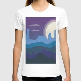 Blue Desert T-shirt