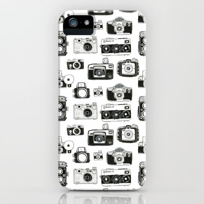 Vintage Cameras iPhone Case