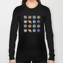 Planets solar system Long Sleeve T-shirt