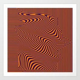 digital art, abstraction Art Print