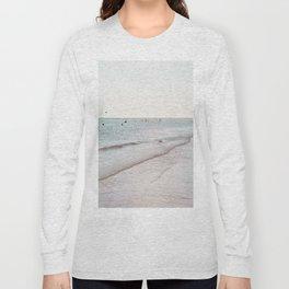 Beach day in Britain Long Sleeve T-shirt