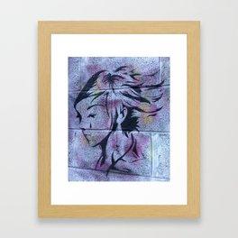 Dublin Girl Framed Art Print
