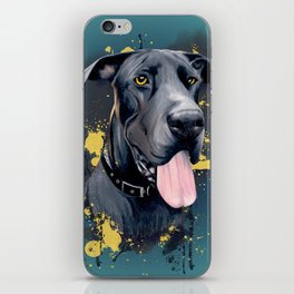 Great Dane iPhone Skin