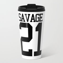 21 Savage Jersey Travel Mug