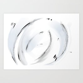 Abstract landscape #15 Art Print