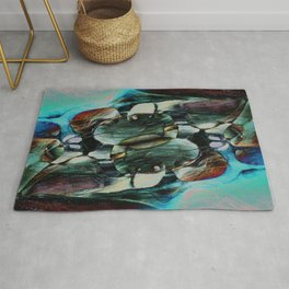 Red Rock Canyon Blues 2 Rug