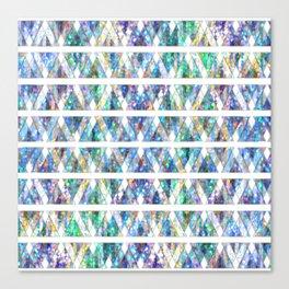 Geometric Glossy Pattern G331 Canvas Print