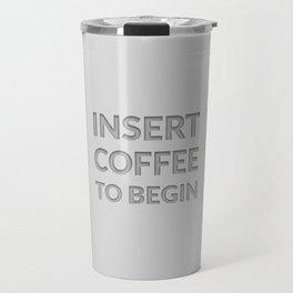 The Coffee Lover III Travel Mug