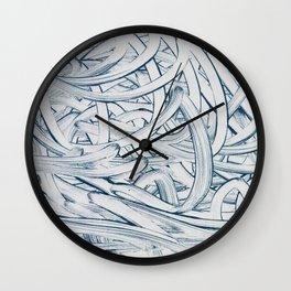 Mute 2 Wall Clock