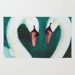 Swans Flirt Rug