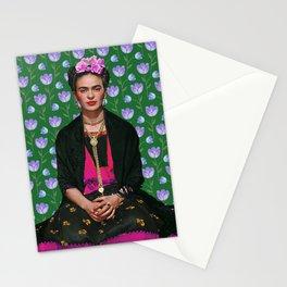 Flowers Frida Kahlo I Stationery Cards