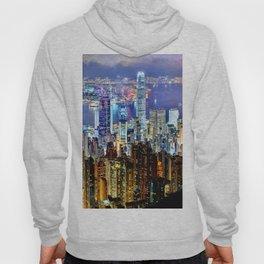 Hong Kong City Skyline Hoody