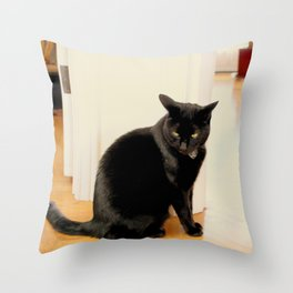Any Witch Way Throw Pillow