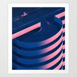 Café Racer Art Print