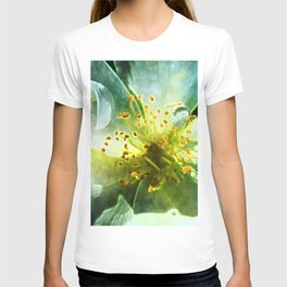Yellow Rose Center with smokey overlay by CheyAnne Sexton T-shirt