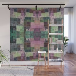Сolorful checkered pattern Wall Mural