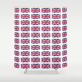 flag of uk- London,united kingdom,england,english,british,great britain,Glasgow,scotland,wales Shower Curtain
