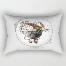 The Dance of Moments Rectangular Pillow