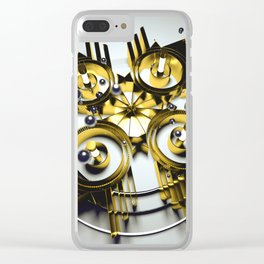 Neo Skyrocket Clear iPhone Case