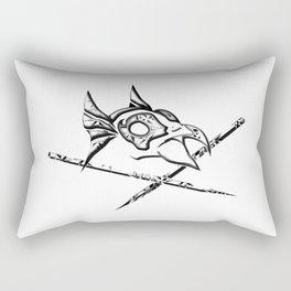 Dead Man`s bird Rectangular Pillow