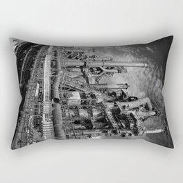 Bethlehem Steel Blast Furnace 9 Rectangular Pillow