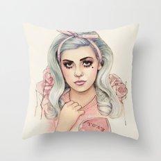 L.O.V.E | E.V.O.L Throw Pillow