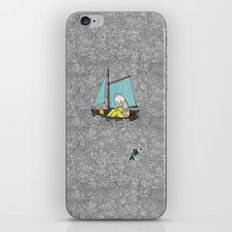 Old Man and the Sea iPhone Skin