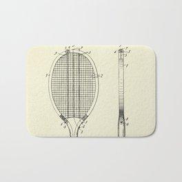 Tennis Racket-1907 Bath Mat