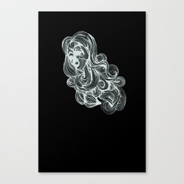 Hair I Canvas Print