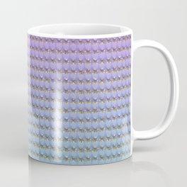 Purple Aqua Gradient  Coffee Mug