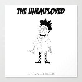 The Unemployed - Stelvio Canvas Print