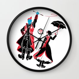 I'm Marry Poppins y'all! Wall Clock
