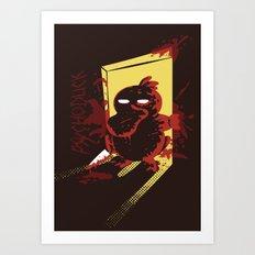 Psychoduck Art Print