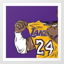 Black Mamba Art Print